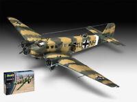 Junkers Ju52/3m Transport Aircraft Plastic Kit 1:48 Model 03918 REVELL