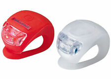 Challenge Silicon LED Bike Higher Visibility Bicycle Front & Rear Lights UK