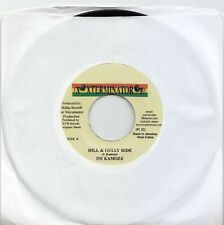 Ini Kamoze - Hill And Gully Ride - Xterminator Jamaican Release 7 inch