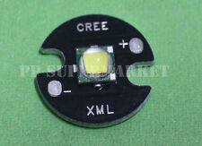 Cree Single-Die XM-L LED T6 White 6000k Chip 16mm Round Base for DIY