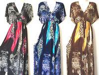 PLUS SIZE Women Long Maxi summer beach hawaiian Boho evening party sundress #33