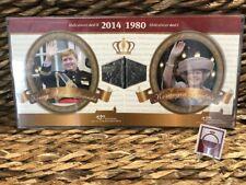 NEDERLAND 2013-2014 - ABDICATIESET DEEL 1 & 2 - IN PLASTIC COVER