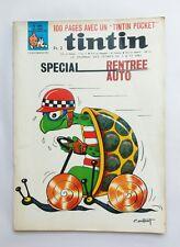Journal Tintin N 988 Spécial Auto Rentrée + maxi récit / HERGE COUTANT / BD 1967