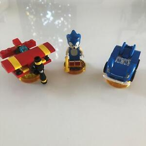 LEGO Dimensions 71244   Sonic the Hedgehog Level Pack   Used 100% Complete