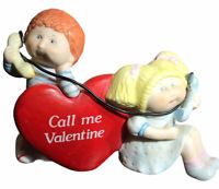 Vintage Cabbage Patch Kids Figurine Call Me Valentine 1984 Xavier Robert NICE!!