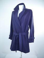 * Mod.Sisley Doppelreiher Mantel  oversized Gürtel blau Gr.I 42/D 36 NEU