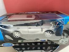range rover silver  welly 1:18