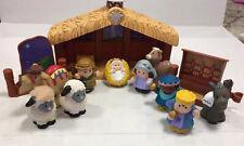 Fisher Price Little People Nativity Set Christmas Jesus Wise Men Animals