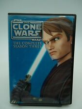 Star Wars The Clone Wars Season 3 DVD