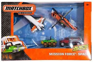 MATCHBOX SKY BUSTERS MISSION FORCE SPACE SQUAD - 5 Vehicles - BFK50