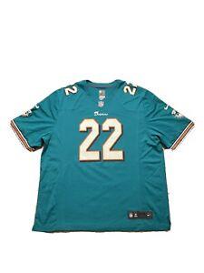 """Nike Miami Dolphins Teal Reggie Bush #22 Jersey BNWT Brand New Size 2X 27x32"""""""