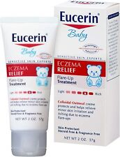 New ListingExpired 12/2019 2 Packs Eucerin Baby Eczema Relief Flare-Up Treatment