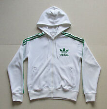 Womens Vintage Adidas Hoodie White Small Grade A