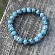 'Relaxation' Beaded Bracelet Jasper Natural Healing Stones Chakra