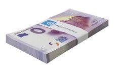 Zero (0) Euro Europe X 100 Pieces (PCS), 2017,UNC,Burg Kriebstein,Germany,Bundle
