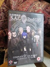 S.A.C (ghost In A Shell) 2nd GIG (stand Alone Complex)  26 Episodes