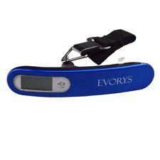 Evorys Blu 110lb/50kg da viaggio da appendere digitale Traveler Borsa bagagli peso scala