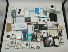Lot of 59 Good, Various Cell Phone Accessories Chargers/Battery Pack/Etc. Sb1865