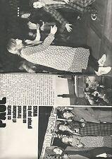 Coupure de presse Clipping 1971 Paul MacCartney et madame (6 pages)