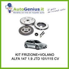 KIT FRIZIONE E VOLANO RIGIDO + CUSCINETTO ALFA 147 1.9 JTD 74/85 KW 101/115 CV