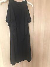 Ladies Short Cap Designer Evening Dress By Milly / New York Size S