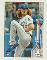 2020 Topps Series 1 #235 DUSTIN MAY RC Rookie Los Angeles Dodgers