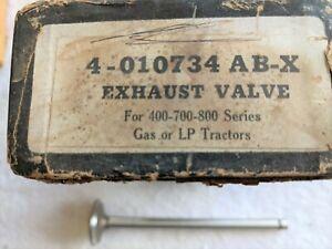 CASE TRACTOR SERIES 400-700-800 EXHAUST VALVES