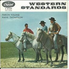 7'EP Faron Young/Hank Thompson >Western Standards< COUNTRY Germany Capitol