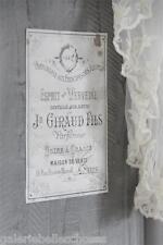 Jeanne d'Arc Living Furniture Decoration Wand Möbeltattoo Shabby Esprit Verveine