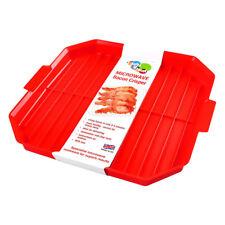 Good 2 Heat Microwave Bacon Crisper Microwave Cookware Kitchen Gadget
