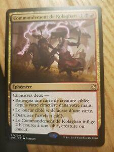 Commandement De Kolaghan, Carte Rare Magic