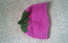 015 Kids Cute Eggplant Tobaggan Hat Winter