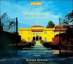 RAFAEL PUYANA  / Musical Sun Of Southern Europe II / Audio Music CD / NEW Sealed