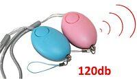 2x Personenalarm Panikalarm Taschenalarm 120db Alarm Alternative zu Pfefferspray