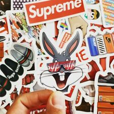 60 Supreme Streetware Hypebeast Stickers Set Waterproof Laptop Luggage