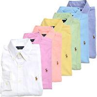 Polo Ralph Lauren Mens Buttondown Shirt Long Sleeve Oxford Collared Button Up