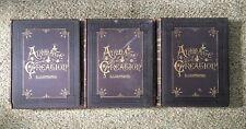 Animate Creation Illustrated 30 Color Plates Animals 1885 1st Ed 3 Vol J G Wood