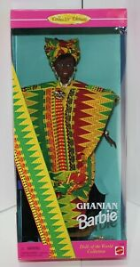 Ghanian Barbie Dolls of the World Collector Edition NIB in Box #15303 1994