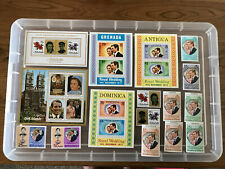 Thematic Stamps Royalty Princess Anne Royal Wedding