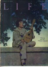1922 Life August 24 Maxfield Parrish original issue - Her Window