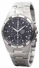 Seiko Titanium Chronograph SND419P1 SND419P SND419 Men's Watch