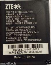 NEW Original OEM ZTE Battery for MIAMI Z221 F290 N281 Li3709T42P3h463657 900mAh