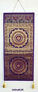 Indian Wall Art Mandala Brocade Hanging Pocket Letter Holder Box Gift Chakra