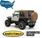 Smittybilt Replacement Soft Top Tinted Windows Spice For 97-06 Jeep Wrangler Tj