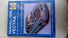 haynes Vauxhall/Opel Vectra service and repair manual Mar 1999-May 2002