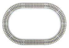 More details for rokuhan r081 z shorty oval set rail set g (z scale)