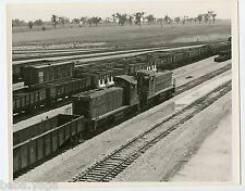 New Railroad Yard, Canadian National Railway,  Old Photo