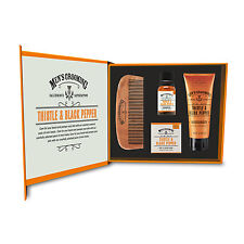 The Scottish Fine Soaps Company - 4 Piece Face & Beard Care Set in Gift Box