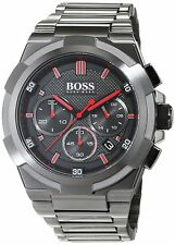 Hugo Boss Hb1513361 Gun Metal Supernova Chronograph Men's Watch