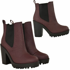 High Heel (3-4.5 in.) Pull On Ankle Boots for Women